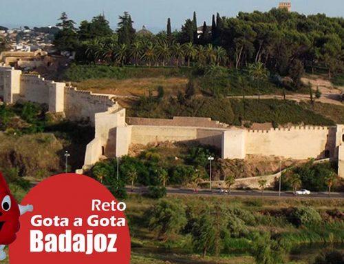 Reto Gota a Gota en Badajoz 17 mayo 2017