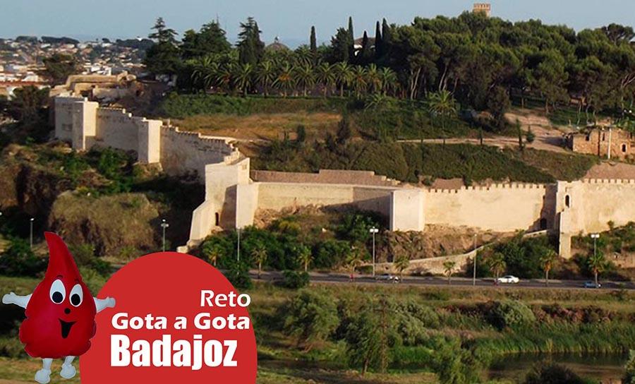 El reto gota a gota en Badajoz