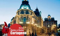 El reto gota a gota en Cartagena
