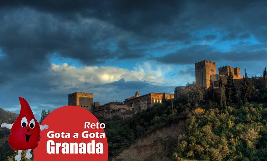 El reto gota a gota en Granada
