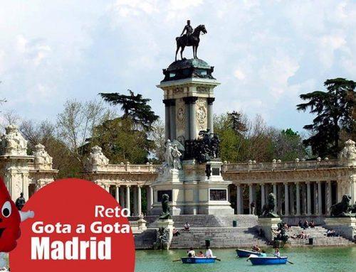 Reto Gota a Gota en Madrid, 30 marzo 2017