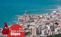 El reto gota a gota en Sitges